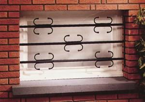 Grilles de défense pour fenêtre